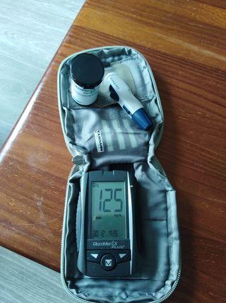 apatato de medir glucosa en sangre