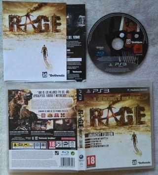RAGE ANARCHY EDITION PS3 PLAY3 NUEVO
