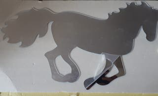 Espejo caballo