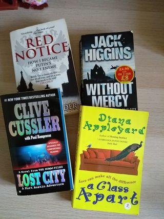 Lote libros en inglés