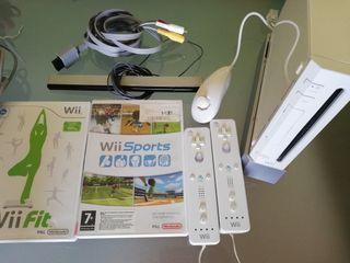 Wii + Balance board + juegos