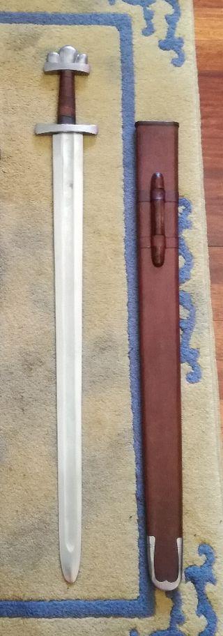 espada vikinga nueva