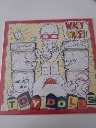 TOY DOLLS (vinilos en perfecto estado )
