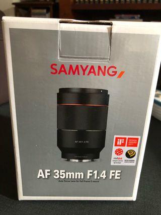 Objetivo Samyang AF 35 mm F1.4 para Sony E NUEVO