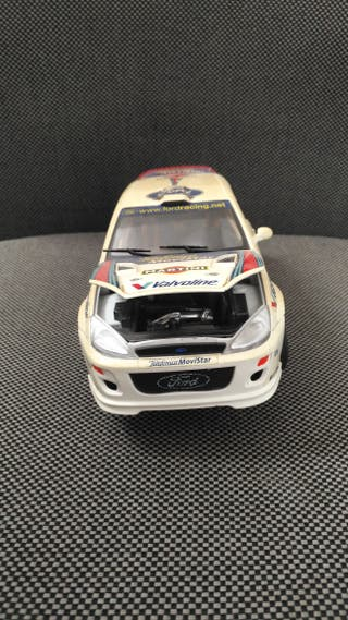 Coche Réplica Burago Ford Focus Rallie
