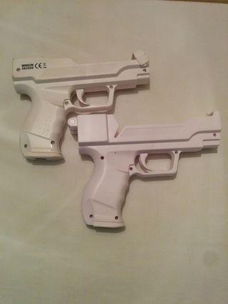 2 pistolas para Wii