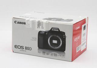 Canon EOS 80D DSLR (comprada junio) + objetivos