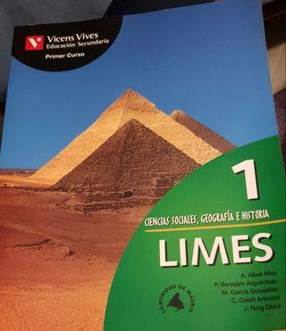 Libro Ciencias Sociales, Geografía e Historis