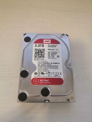 Disco Duro HDD WD NAS Red 3TB (Perfecto estado)