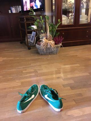Zapatillas nike verdes