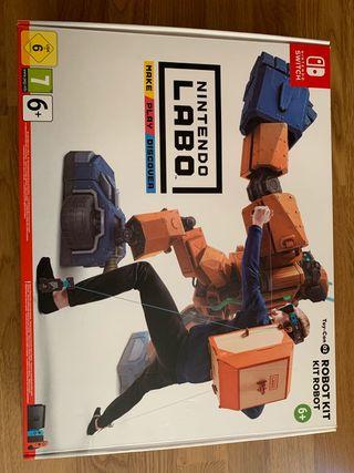 Juego Nintendo Labo Robot Kit Nintendo Switch