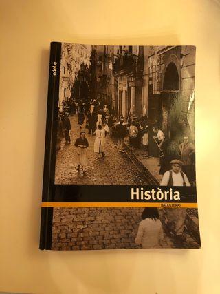 Libro Historia Bachillerato (Edebé)