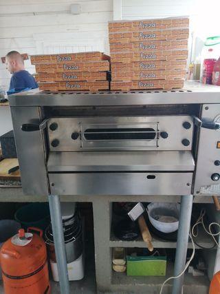 horno pizza a gas