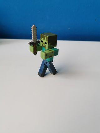 Zombi de minecraft.