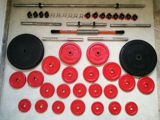 Juego pesas SALTER originales y accesorios