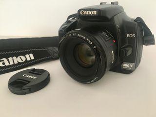 Canon reflex_EOS 400D_2 tarjetas de memoria