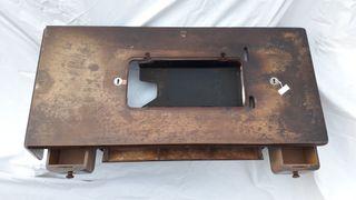 Mesa de máquina de coser, con 3 cajones