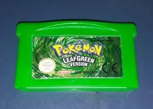 Pokemon Verde Hoja (Leaf Green) Original
