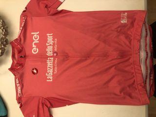 Maillot castelli rosa la gazzeta dello sport