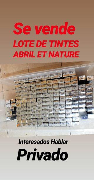 vendo Lote de tintes Abril et nature