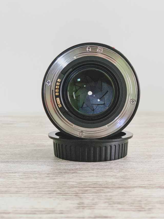 Objetivo Canon 50mm f/ 1.4