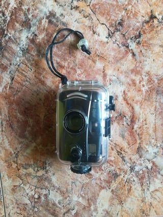cámara con carcasa buceo