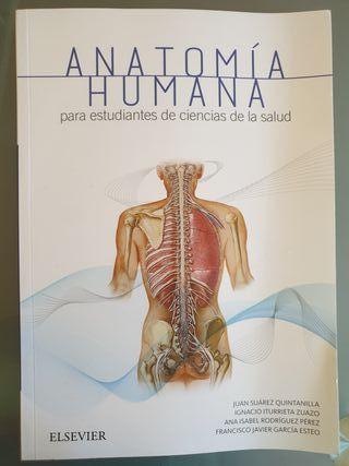 libro Anatomía Humana elsevier