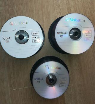 CD y DVD Verbatim