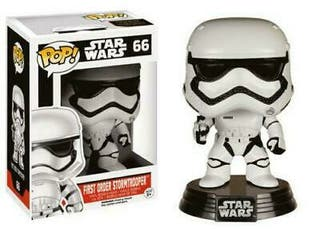 Funko Pop First Order Stormtrooper 66 Star Wars 9c