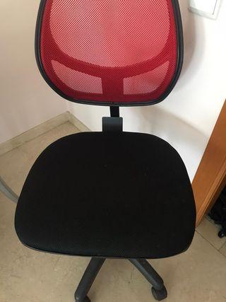 silla escritorio seminueva