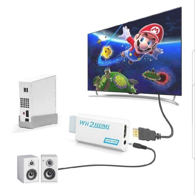 Adaptador HDMI para Wii