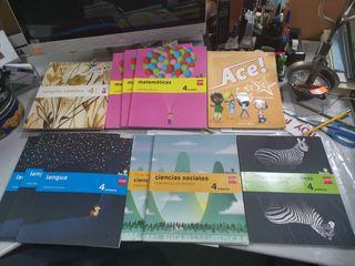 pack de libros de 4to de primaria de Savia