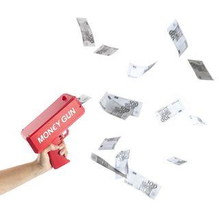 Pistola Money ( incluye billetes )