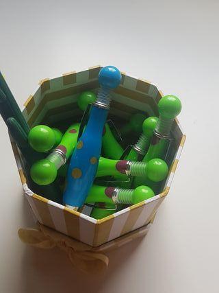Conjunto de bolígrafos
