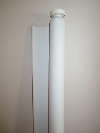 TUPPLUR Estor opaco, blanco, 160x195 cm IKEA