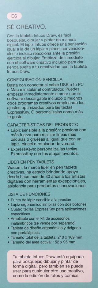 Tableta Intuos Draw Wacom