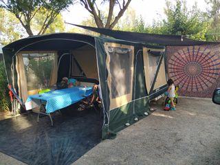 Carro tienda Comanche Montana 2013 sin piquetas