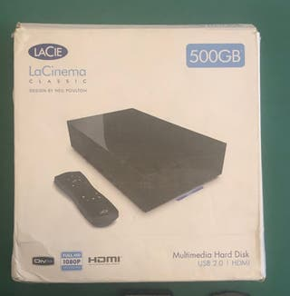 DISCO DURO MULTIMEDIA 500 GB LACIE