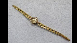 Reloj de oro 9 klts macizo
