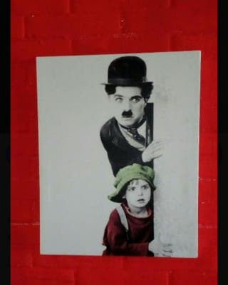 cuadro Charles Chaplin