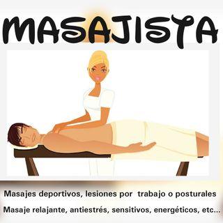 Masajista deportiva y quiropráctica.