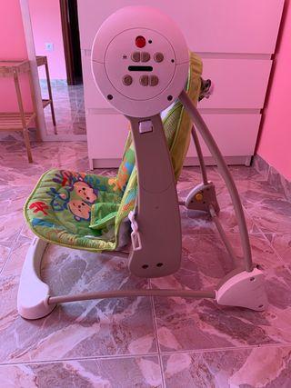Mecedora bebe electrica