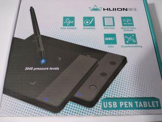 Tablet para dibujo Huion