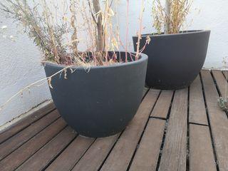 Maceteros grandes para jardín