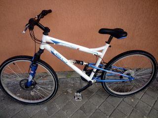 Bicicleta doble suspensión y freno disco