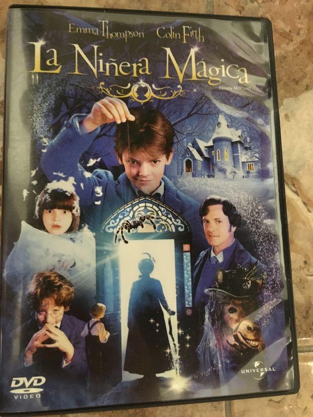 Dvd la niñera magica