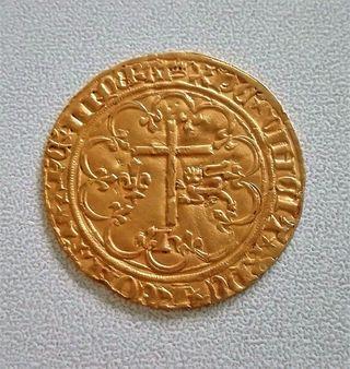 Moneda de oro (Genuina)