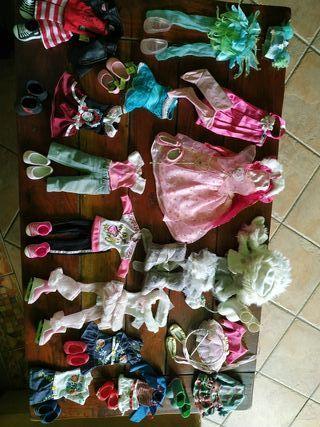 lote de ropa muñeca Nancy