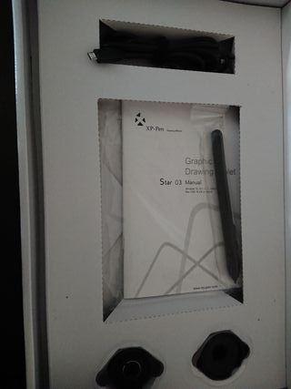 Pen Tablet Star 03 10x6 pulgadas. Nuevo.