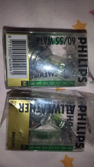 2 Lámparas cruce H4 Philips